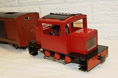 16mm Narrow Gauge SCRATCHBUILT SM32 0-6-0 Diesel Shunter BRASS and WELL MADE