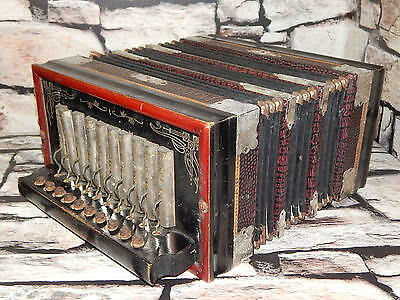 Vintage Parsifal Melodeon Piccolo Organ with Steel Bronze Reeds accordion Ludwig