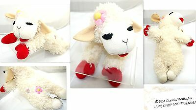 Aurora Shari Lewis Lamb Chop Plush Doll With Flower Toy Collectible