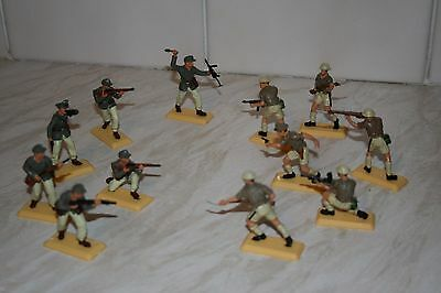 DSG sets of Britains Deetail WW2 British 8th Army/Afrika Korps..