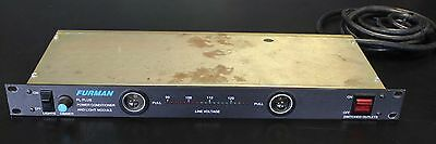 Furman PL-PLUS Series II Power Conditioner *READ*
