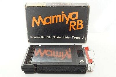 [Exc+++] Mamiya RB67 RB Double Cut Film Plate Holder Type J from Japan