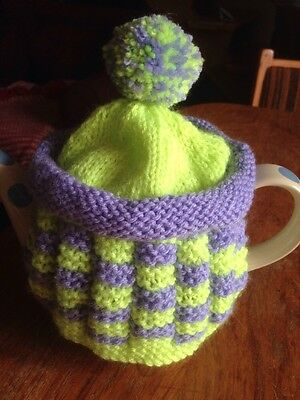 Bright And Cheery Pom Pom Tea Cosy