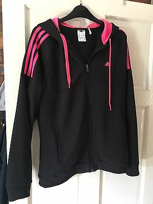 Adidas Tracksuit Jacket And Bottoms Size 16-18