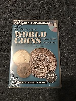Standard Catalog Of World Coins 1801-1900 8th Edition CD New