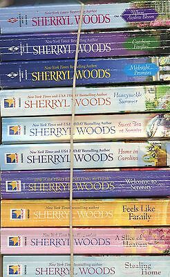 Lot Of 10 Pb~Sherryl Woods~Sweet Magnolia Series~Stealing Home~Slice Of Heaven~F