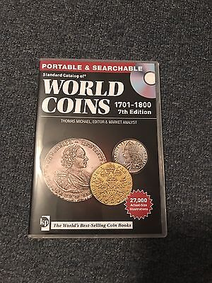 Standard Catalog Of World Coins 1701 - 1800 7th Edition CD
