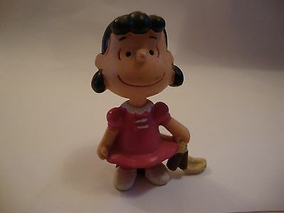 Vintage Collectable Snoopy Lucy Peanuts Gang Schleich figure