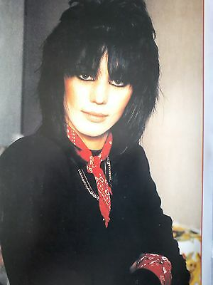 Joan Jett  Single Page Picture Music Book 27x19cm