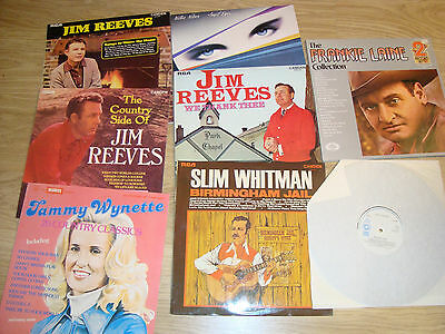 "lot of 9LP 12"" Vinyl - COUNTRY"