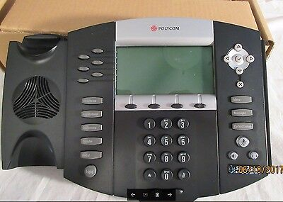 NEW in Box ..Polycom Soundpoint IP 650 SIP 2201-12630-001 Office Business Phone