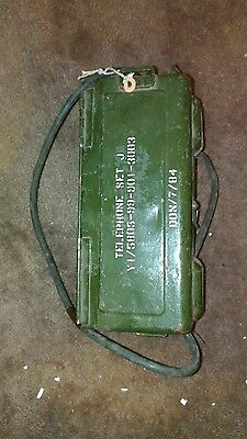 WW2 British Army Field Phone