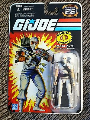 G.I. Joe 25th Anniversary Storm Shadow version 1 Hasbro new Foil mint on card GI