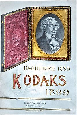 1899 Kodak Catalog  (Mint)