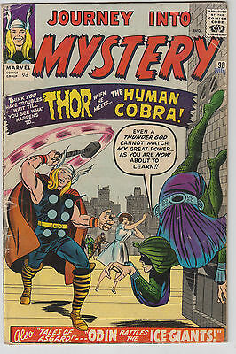 Journey into Mystery #98, Thor, Marvel Comics, first Human Cobra