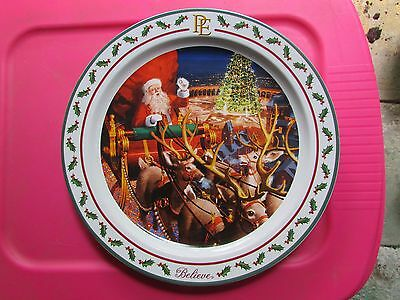 polar express plate large
