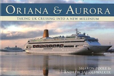 P&O Cruises ORIANA AURORA CANBERRA Ocean Liner Cruise Ship Picture History Book