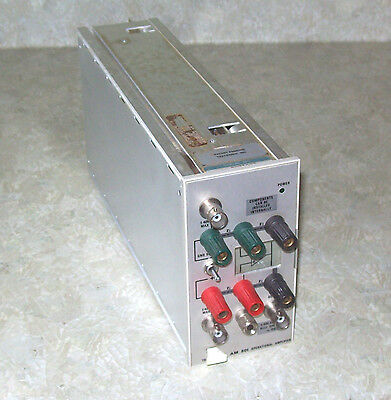 Tektronix AM501 Operational Amplifier Plugin - TM500 Series - Tested/Working