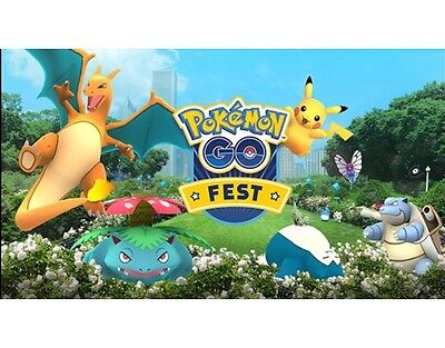POKEMON GO FEST: CHICAGO Grant Park! SOLD OUT 2 Tickets//Wristbands!!! 2 Tickets