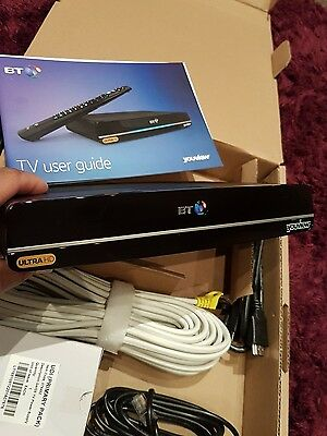 BT Ultra HD YouView Box UHD DTR-T4000/1TB with Twin HD Freeview and 7 Day Catch