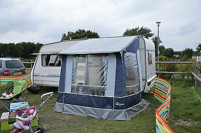 Sterling europa 4 berth caravan with motor mover and awning