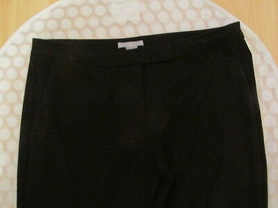 Black H&M Straight Leg Trousers Size 10
