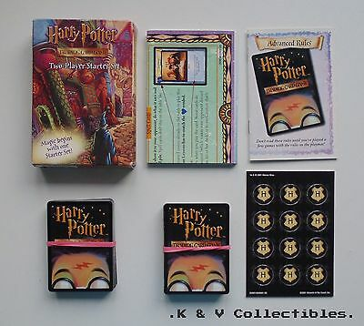 Harry Potter Trading Card Game Two Player Starter Set GC & CHECKED