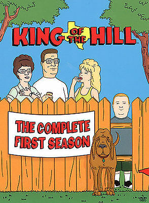 King of the Hill - Season 1 (DVD, 2009, 3-Disc Set) NEW SEALED