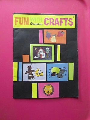 VTG DENNISON  Fun With Crafts KIDS CRAFTS - PUPPETS, COSTUMES, HOLIDAYS MORE