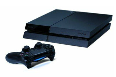 Sony PlayStation 4 Launch Edition 500GB Jet Black Console **