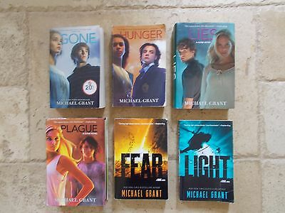 Gone Series by Michael Grant Mixed Lot #1-6