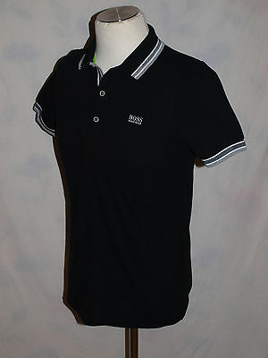 HUGO BOSS Modern Fit Green Label Black polo t shirt. Excellent condition. Size S