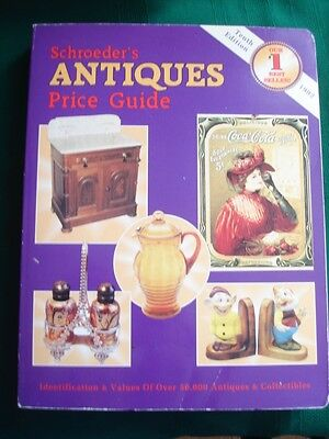 Schroeders Antique Price Guide 1992 tenth Edition Paperback book Collectors