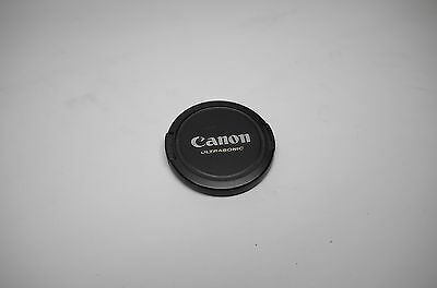 Preowned CANON 58mm Ultrasonic Front Lens Cap USM Made in Japan