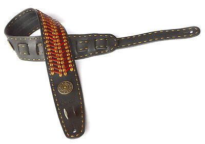 The Hand Guitar And Bass Straps,made Entirely By Hand Genuine Leather Tracolla
