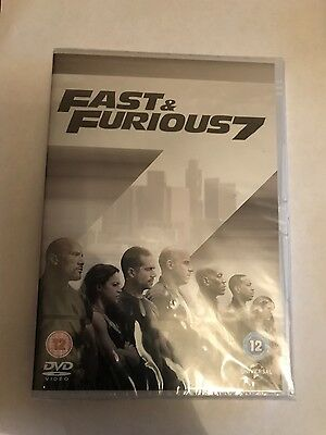Fast and Furious 7 DVD Original packaging