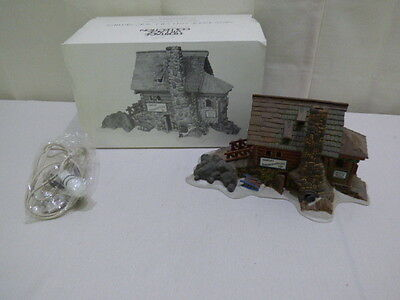 Dept 56 Semple's Smokehouse New England Village Series Lighted MINT