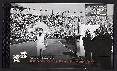 GB 2012 Keeping the Flame Alive Olympics Prestige Stamp Booklet - DY5