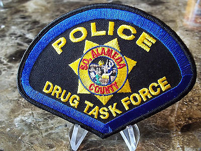 South Alameda County Police Drug Task Force California CA Sheriff
