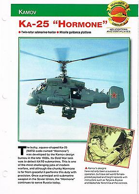 """Aircraft of the World group 3 helicopters and vertiplanes #6   Ka-25  """"HORMONE"""""""