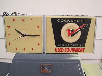 Cockshutt Electric Wall Clock 1960s