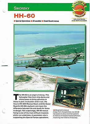 Aircraft of the World group 3 helicopters and vertiplanes #93  SIKORSKY  HH-60