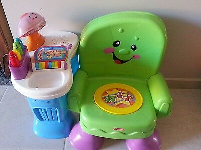 Fisher  price  musical  toddler  chair