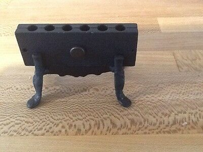 19th century pharmacy tool replica suppository mold