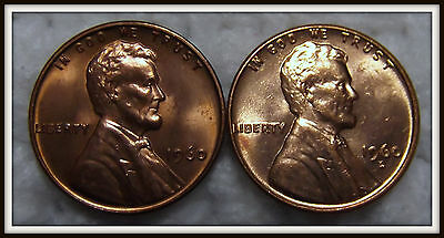 1960-P,D 1C Small Date RD Lincoln Cents (Unc.)