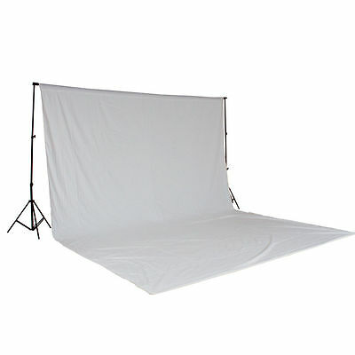 White chroma background, ideal for photo studio, photo card ... + support