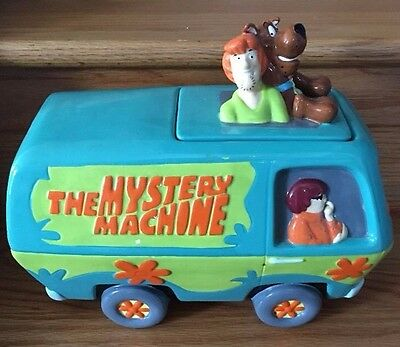 Scooby Doo Mystery Machine Cookie Jar TREASURECRAFT, guc