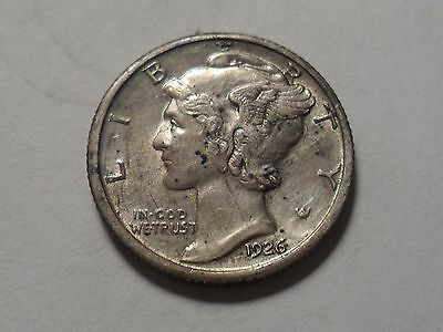 1926-P  Nice Better Grade  90% Silver Winged Liberty Head Dime!!