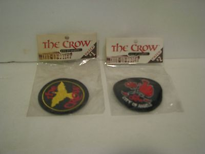 The Crow *city Of Angels* Embroidered Patch Lot  2 Sealed  Pack # 1 & # 2