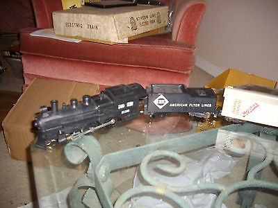 lot of 8 american flyer pike master frieght train set 8 pcs total